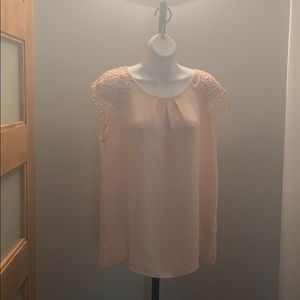 Pretty and delicate sheer top by Philosophy
